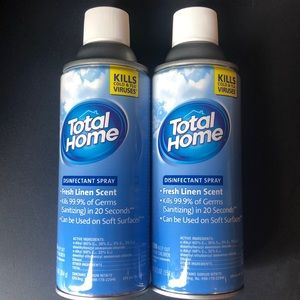 2 Total home disinfectant spray Bundle